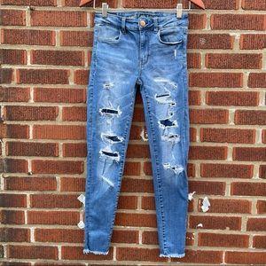 American Eagle Hi Rise Jegging Skinny Stretch Jean